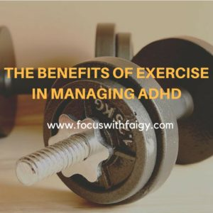benefits of exercise in managing adhd